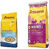 15 kg Josera Miniwell + 1,5 kg Josera Knuspies