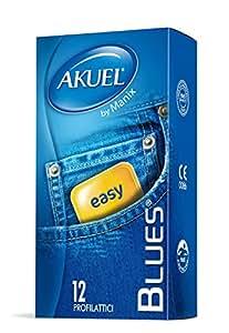 Akuel Blues, Preservativi Classici, 12 Pezzi