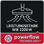 AEG VX6-2-RR Staubsauger mit Beutel (360° drehbare Räder, inkl. Zusatzdüsen, Ergo-Handgriff, 9 m Aktionsradius, 800 Watt…