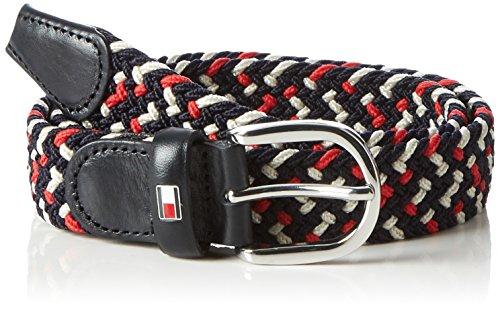 Tommy Hilfiger Rope Belt 3.0, Ceinture Femme Blanc (Corporate)
