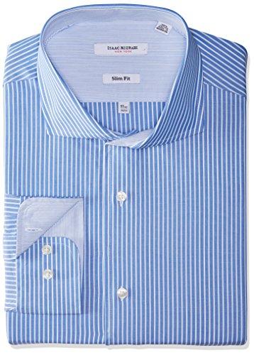 Isaac Mizrahi da uomo   camicia per completo Deep Blue