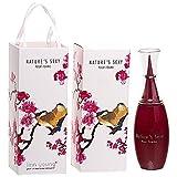 de nuevo Sexy para Linn rayas de diseño de trazos de color Femme cortinas de agua de y botella de esencia de para mujer de las gafas 100 ml #998686