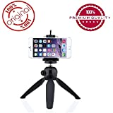 "Easypro™ YT-228 7"" Mini Mobile Tripod With 360° Rotating Ball Head With Mobile Clip For All Android & Iphone Smartphones (Assorted Colour) For Jivi Grand 3000"