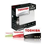 Toshiba Canvio 3TB Premium Mac Externe Festplatte (6,4 cm (2,5 Zoll), USB 3.0) silber - 7