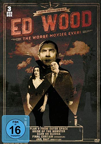 ED WOOD - The Worst Movies Ever [3 DVDs]