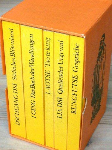 Die Philosophie Chinas: Kasettenausgabe (5 Bände)