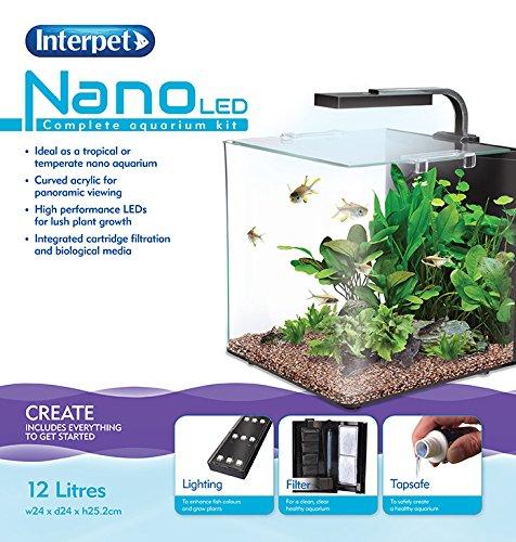 Interpet Nano LED-Aquarium-Komplettset -