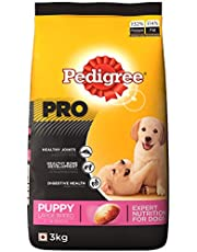 Pedigree PRO Expert Nutrition Large Breed Puppy (3-18 Months) Dry Dog Food 3kg Pack