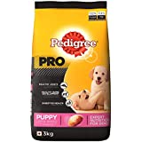 Pedigree PRO; EXPERT NUTRITION for Dogs (Dry Food for Puppy Large Breed, 3-18 months), 3 KG