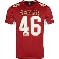 Majestic San Francisco 49ers Moro Est. 46 Mesh Jersey NFL T-Shirt
