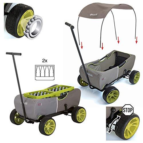 511mmkSF5QL - Hauck - Carro Eco móvil para niños de 2 - 6 años, Color Verde (T93108)
