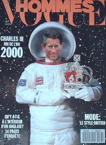 VOGUE HOMMES - CHARLES III ROI DE L AN 2000 - 137