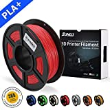 SUNLU 3D Drucker Filament PLA Plus Rot