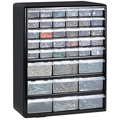 Bond Hardware 39Schublade schwarz Multi Werkzeuge DIY Schrank Organizer Box Die Speicherung...