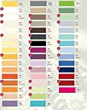 Estella Zwirn Jersey Spannbetttuch, Spannbettlaken in allen Größen und vielen Farben- Zwirn Jersey Spannbetttuch + GRATIS 1x Schal 180-200 x 200-220 cm, Farbe 100-weiss