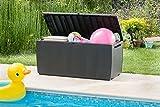 Keter Auflagen- und Universal Rattan Style Box Capri, 305 L, grau - 3