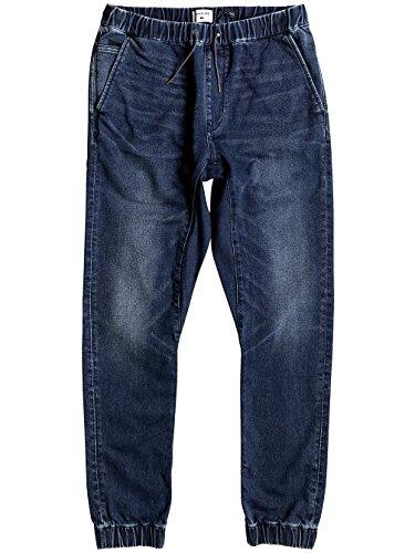 Herren Jeans Hose Quiksilver Fonic Fleece Jeans neo elder