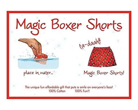 Magic Boxer Shorts 100% Cotton Jersey Boxer Shorts Monkey Design Size Small