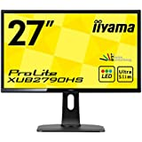"Iiyama ProLite XUB2790HS-B1 Ecran PC LED 27"" (68,6 cm) 5 ms DVI-D/HDMI/VGA Noir"