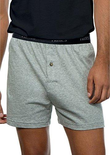 Herren ComfortSoft Knit Boxers Comfort Bund 5-Pack_Assorted_M - Comfortsoft-bund Knit Boxer