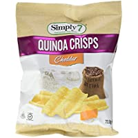 Simply 7 Quinoa Chips Cheddar 90 g -