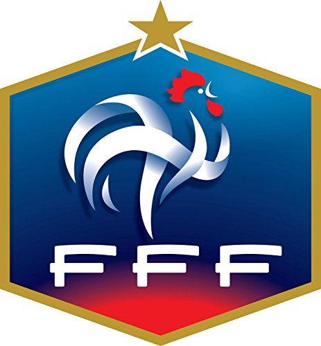 France Football Team - Crest Logo Wall Poster Print - UEFA Euro 2016-43cm x 61cm / 17 Inches x 24 Inches A2 -
