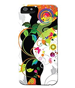 Fuson Beautiful Girly Pattern Back Case Cover for APPLE IPHONE 5C - D3775