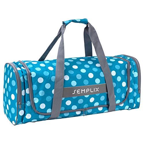 SEMPLIX Plottertasche, die optimale Aufbewahrungs- und Transport-Tasche für Hobby Plotter samt Zubehör (Petrol/türkis)