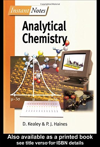 BIOS Instant Notes in Analytical Chemistry by David Kealey (2002-06-15)