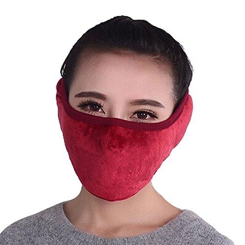 Frauen-Winddichtes Kaltbeweis warme Ohren Mund (Zum Verkauf Gasmasken Coole)