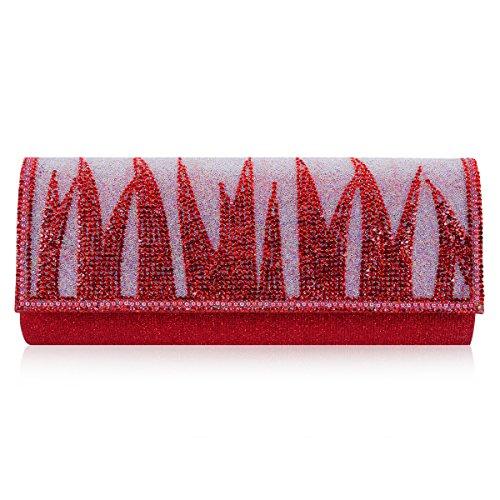 Damara, Borsa tote donna Oro oro Rosso (rosso)