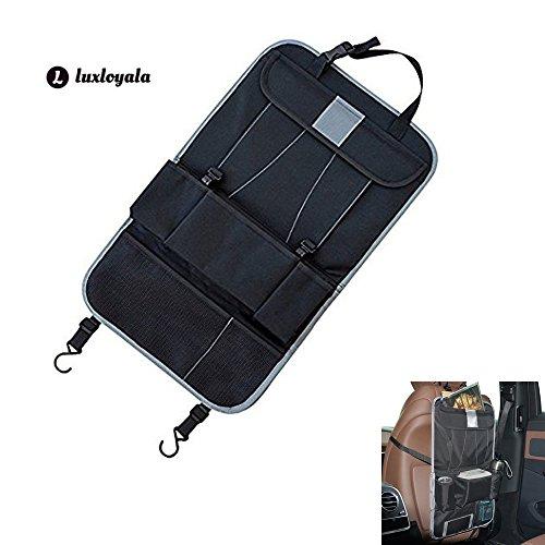 Preisvergleich Produktbild Auto Rücksitz Organisator Multi-Pocket Reise Fracht Aufbewahrung mit Touch Screen iPad Halter für Auto, SUV, Stamm, Baby Spaziergänger