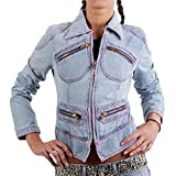 MET Damen Jeansjacke Denim Cheeky Blue 158000 Größe S