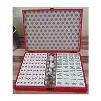 Mahjong Spiel in asiatischer Dekor Kiste, chinesisches Kult-Spiel, Geschenkidee!