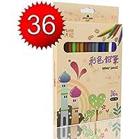 Matite Colorate Kasimir 36 Colori a Matita Professionale Disegno Qualità Superiore da Artista per Sketch Giardino segreto Libro da colorare