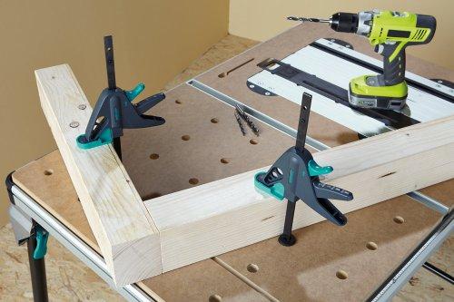 Wolfcraft 1 Werktischspanner / Flächenspanner, 3036000 - 5