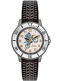 s.Oliver Unisex Kinder-Armbanduhr SO-3557-PQ