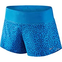 Nike Mujer starglass Rival–Pantalones cortos, color azul, talla XS/3