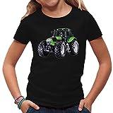 Traktoren Kinder T-Shirt - Traktor Deutz by Im-Shirt - Schwarz Kinder 9-11 Jahre
