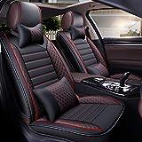 Auto Sitzbezug Set Autos schwarz und blau 13 Stück Universal Zubehör Sitze für c class w202 w203 w204 w205 e class w210 w211 w212 w213 glk350 glc300 m class ml320 ml 350 w163 w164 w166 gle