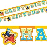 Disney 48407 Finding Dory party Decoration banner Happy Birthday