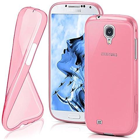 Housse de protection OneFlow pour Samsung Galaxy S4 Mini housse silicone Case en TPU de 0,7mm   Accessoires Cover pour la protection du téléphone portable   Housse téléphone portable Bumper pochette transparente en BERRY-FUCHSIA