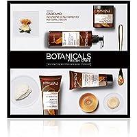 Botanicals Fresh Care L'Oréal ParisCartamo Infusione di Nutrimento, Cofanetto Trattamento per Capelli Secchi, 4 prodotti, Senza Siliconi, Parabeni o Coloranti