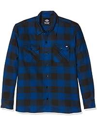 9f47e8782d05 Dickies Herren Streetwear Male Shirt Sacramento, Casual, Normal, langärmlig