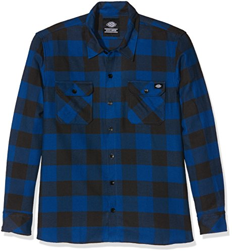 dickies-sacramento-chemise-casual-taille-normale-manches-longues-homme