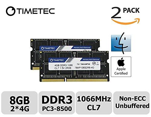 timetec-hynix-ic-apple-8gb-kit-2x4gb-ddr3-pc3-8500-1066mhz-speichererweiterung-fur-macbook-13-zoll-m