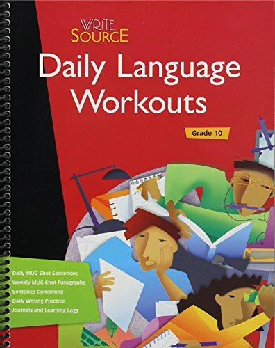 DAILY LANGUAGE WORKOUTS GRD 10 (Write Source Language Series) -
