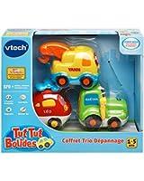 Vtech Tut-Tut Rides - Trio No. 3 Set (Tractor + Helicopter + Concrete Mixer)