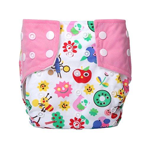Preisvergleich Produktbild Letech® Stoffwindeln Babywindeln Waschbar Windel Größe Verstellbar