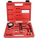 KKmoon Inyección de Combustible Bomba Inyector Comprobador de Calibrador de Presión Prueba Gasolina 0-100 psi